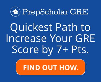 PrepScholar GRE Results
